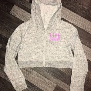 Justice cropped sweatshirt
